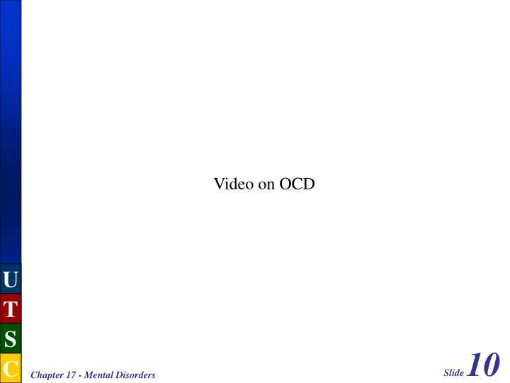 Video on OCD