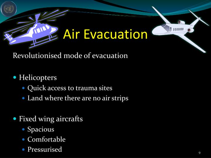 Air Evacuation