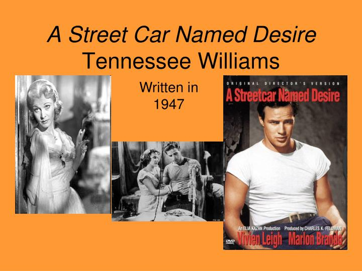 a street car named desire tennessee williams n.