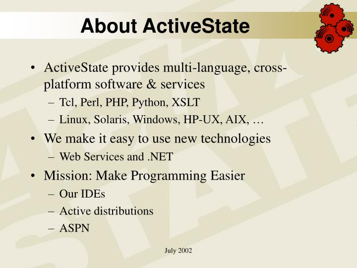 About ActiveState