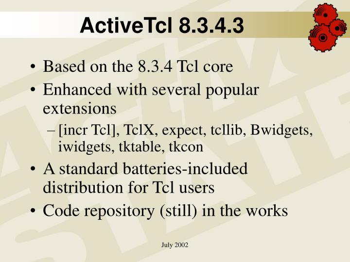 ActiveTcl 8.3.4.3