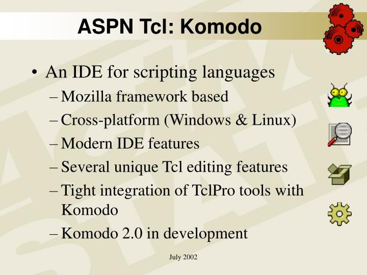 ASPN Tcl: Komodo