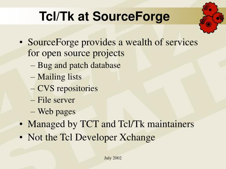 Tcl/Tk at SourceForge