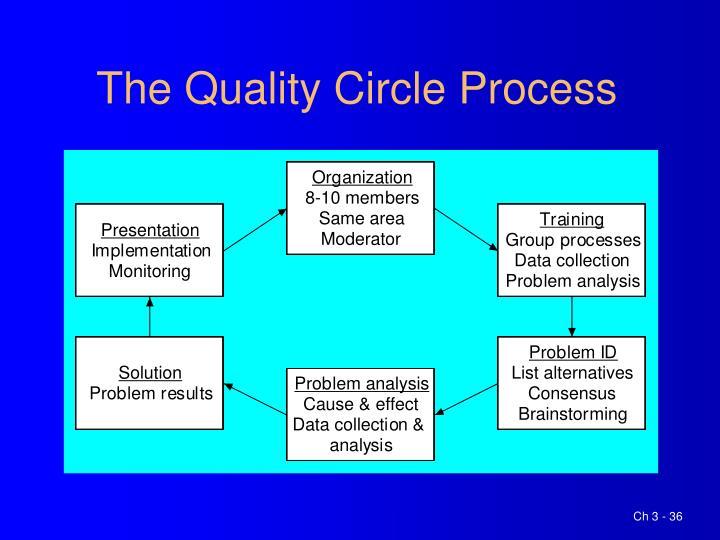 The Quality Circle Process