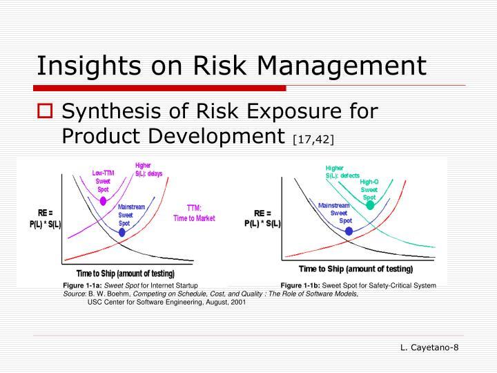 Insights on Risk Management