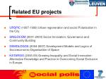 related eu projects