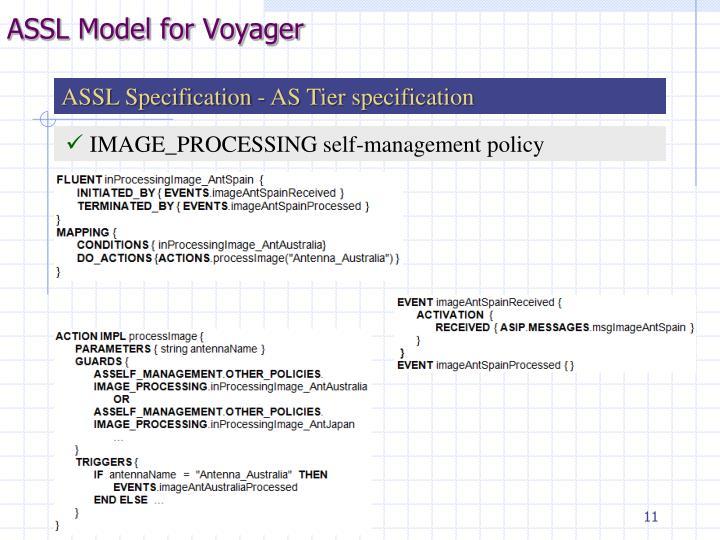 ASSL Model for Voyager
