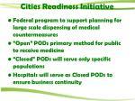 cities readiness initiative