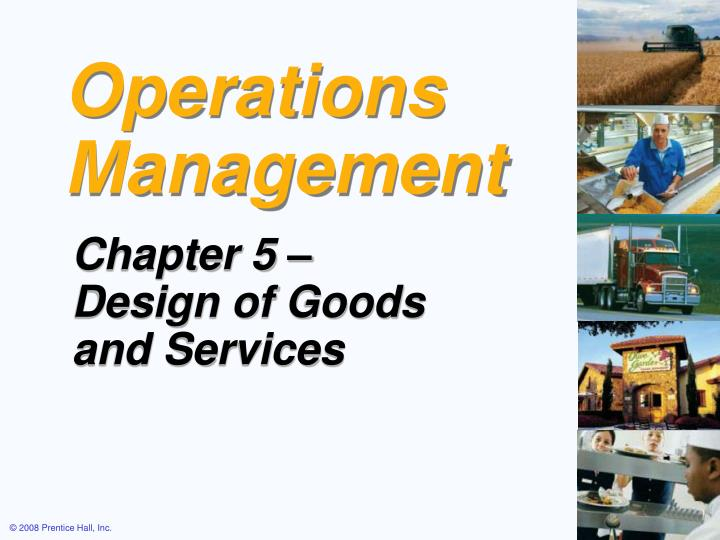 operations management chap 1 ppt
