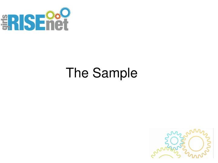 The Sample