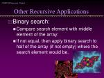 other recursive applications1