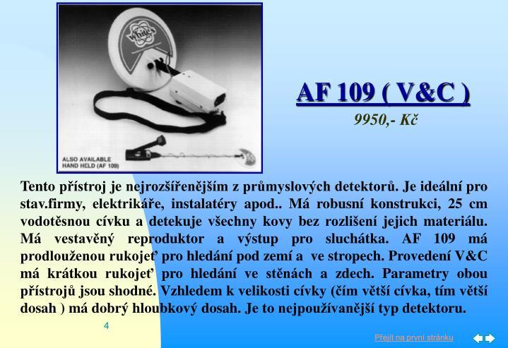 AF 109 ( V&C )
