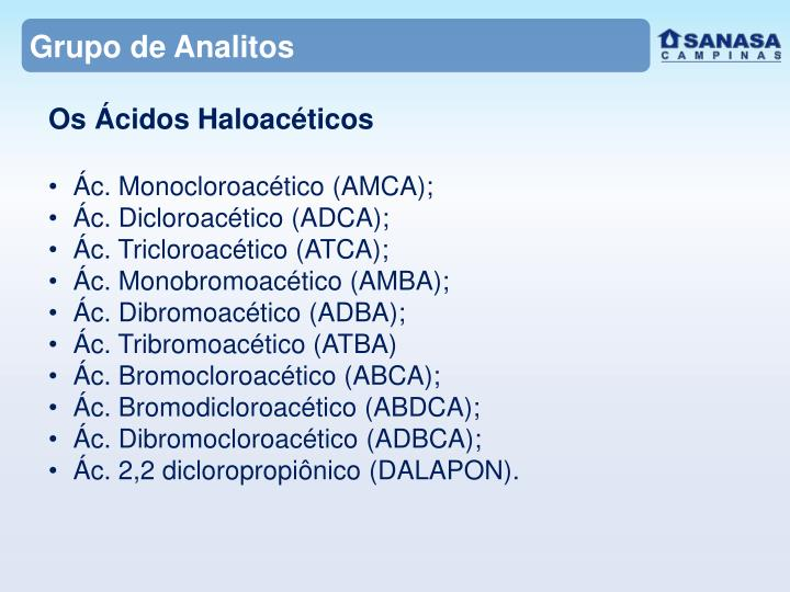 Grupo de Analitos