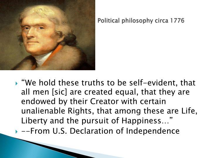 Httppol political philosophy circa 1776