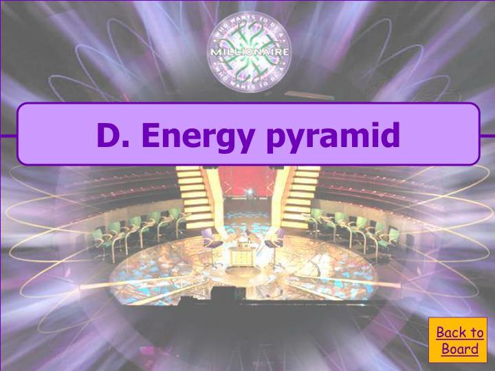 D. Energy pyramid