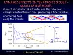 dynamic effects in tevatron dipoles qualitative model