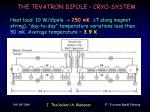 the tevatron dipole cryo system