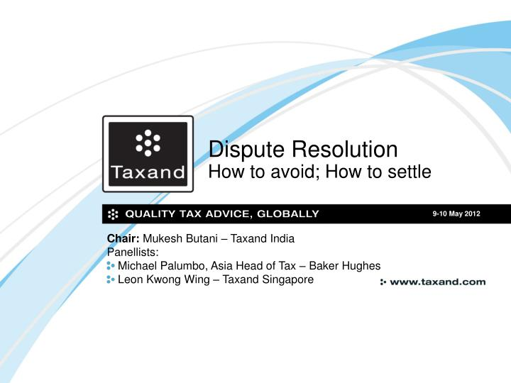 dispute resolution how to avoid how to settle