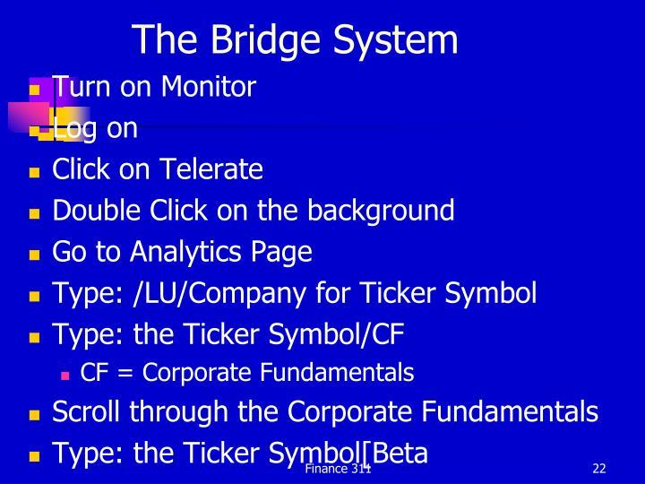 The Bridge System
