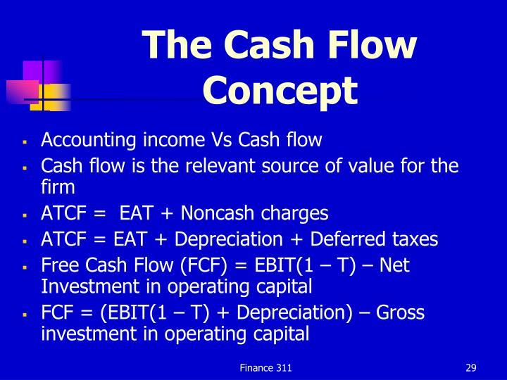 The Cash Flow Concept