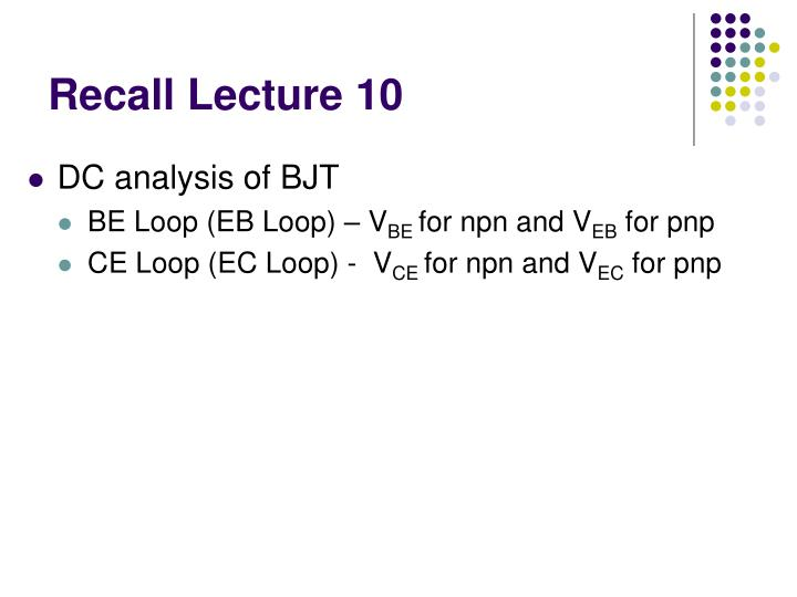 recall lecture 10 n.