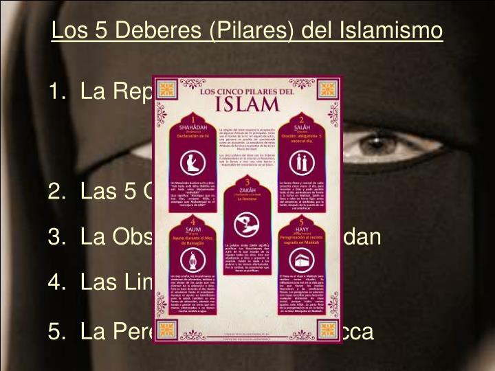 Los 5 Deberes (Pilares) del Islamismo