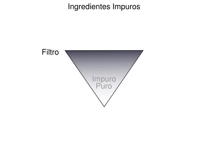 Ingredientes Impuros