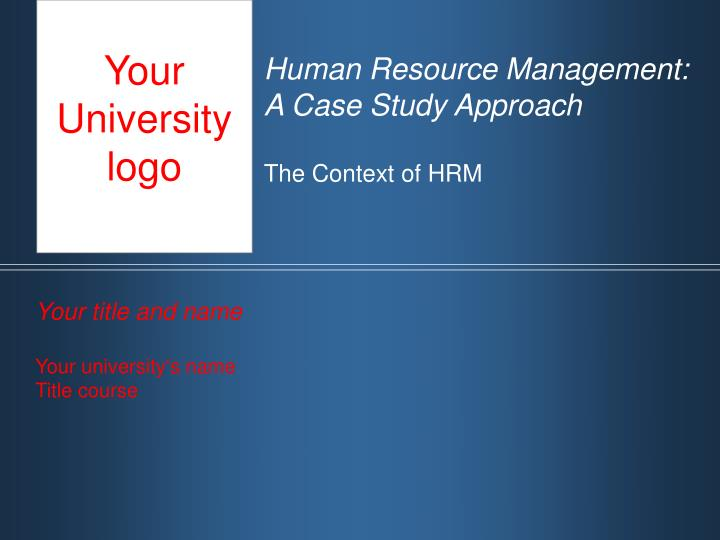 hrm cases