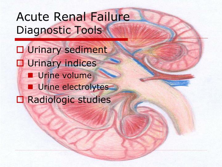 acute renal failure ms jones a 68 year old female underwent A female, 68 years old, was admitted with type 2 diabetes mellitus with a diabetic ulcer of the left heel the patient was taken to the operating room for excisional.