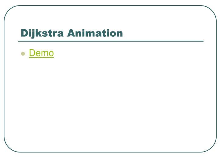 Dijkstra Animation
