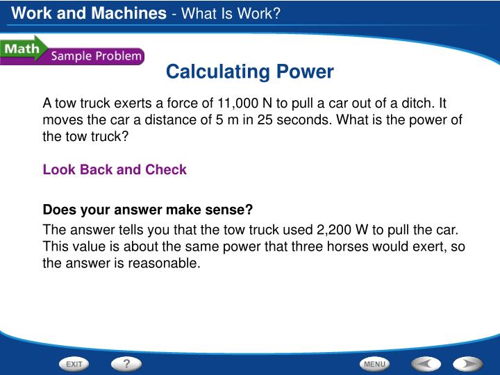 Calculating power1