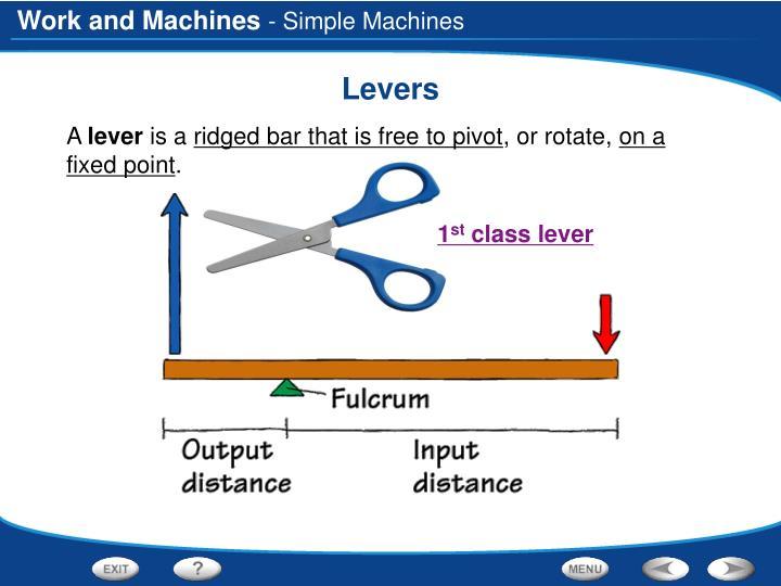 - Simple Machines