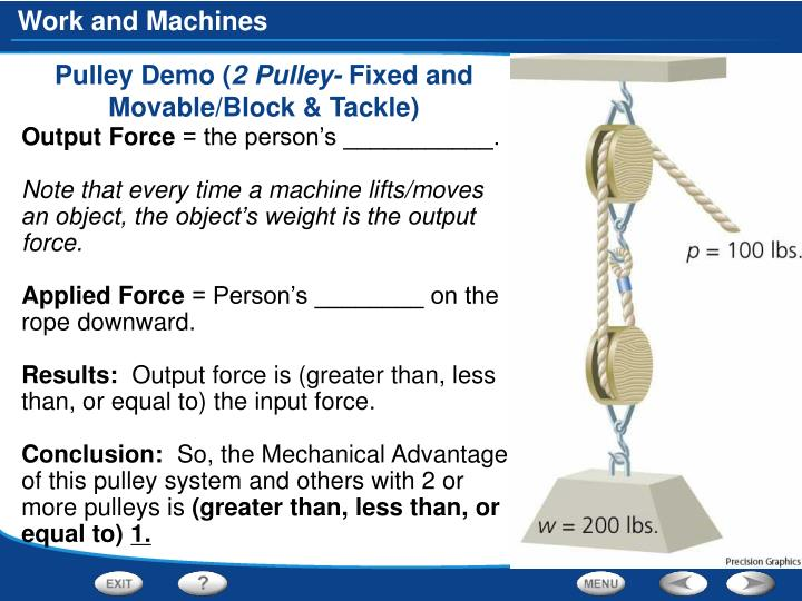 Pulley Demo (