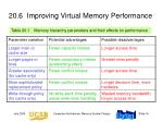 20 6 improving virtual memory performance