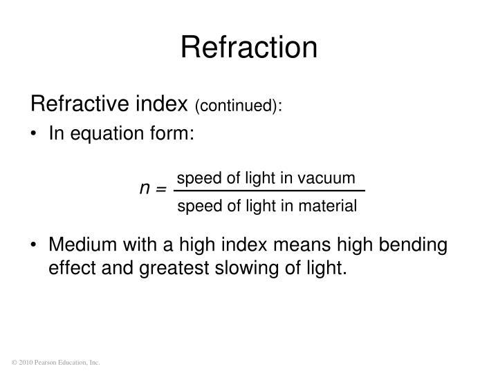 speed of light in vacuum