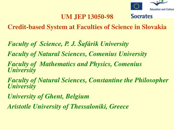 UM JEP 13050-98