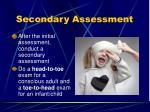 secondary assessment1
