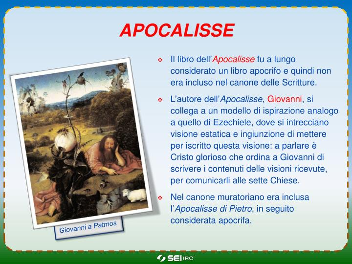 apocalissE