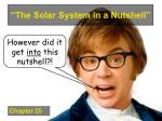 the solar system in a nutshell