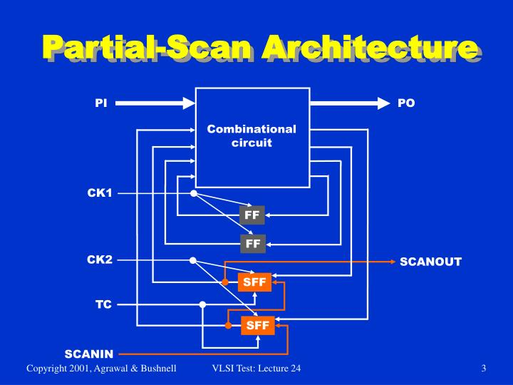 Partial scan architecture