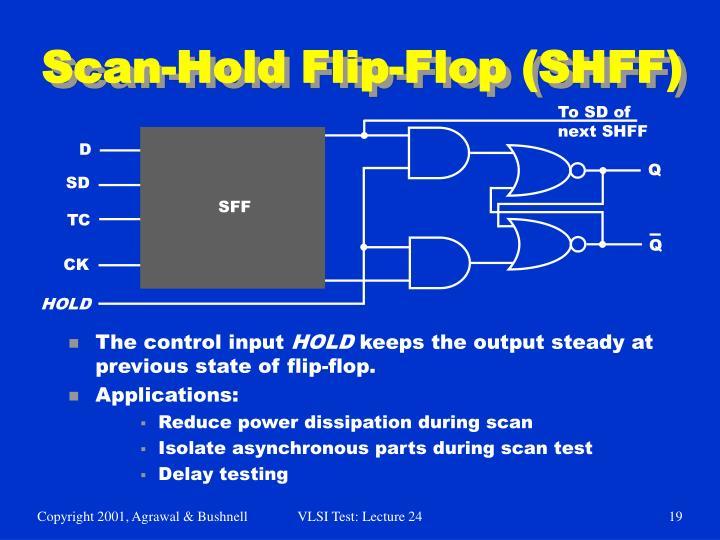 Scan-Hold Flip-Flop (SHFF)
