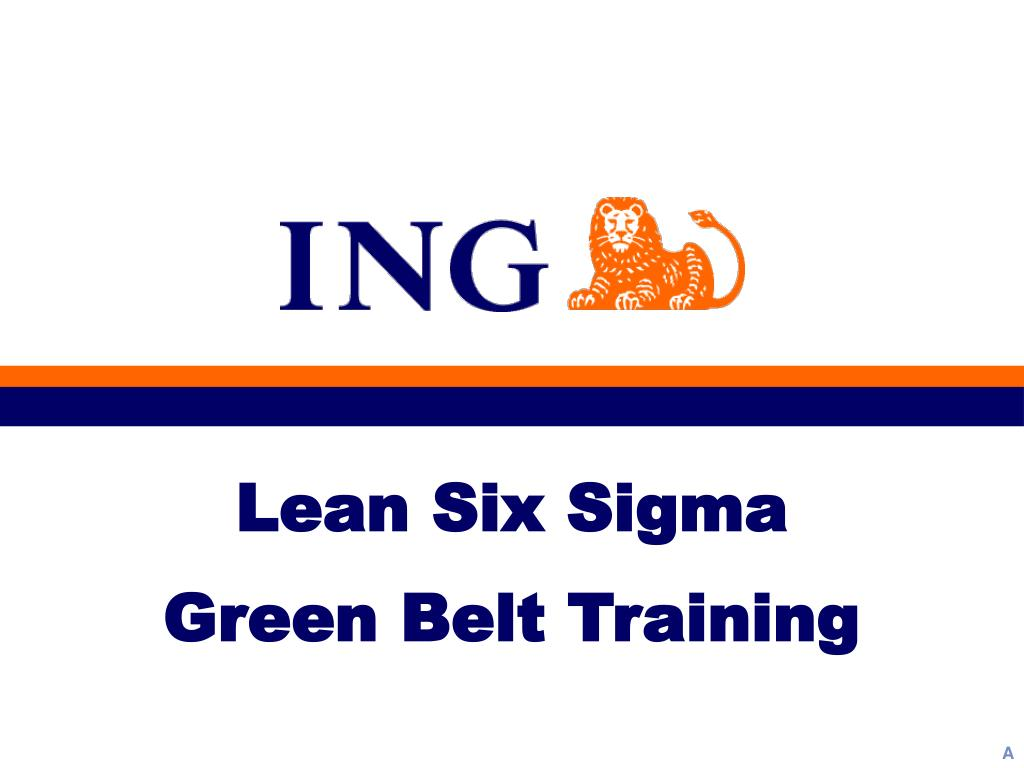 Ppt Lean Six Sigma Green Belt Training Powerpoint Presentation
