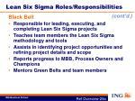 lean six sigma roles responsibilities4