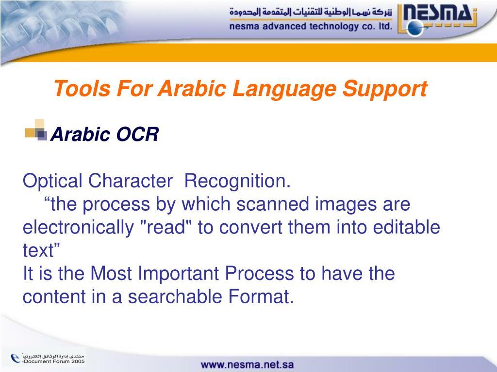 Arabic Ocr