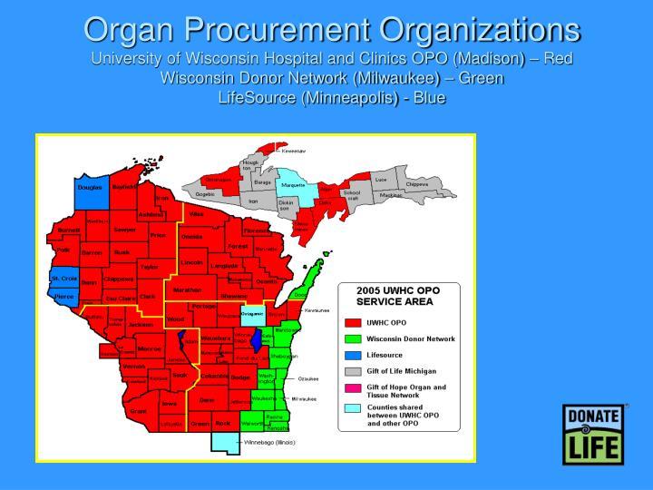Organ Procurement Organizations