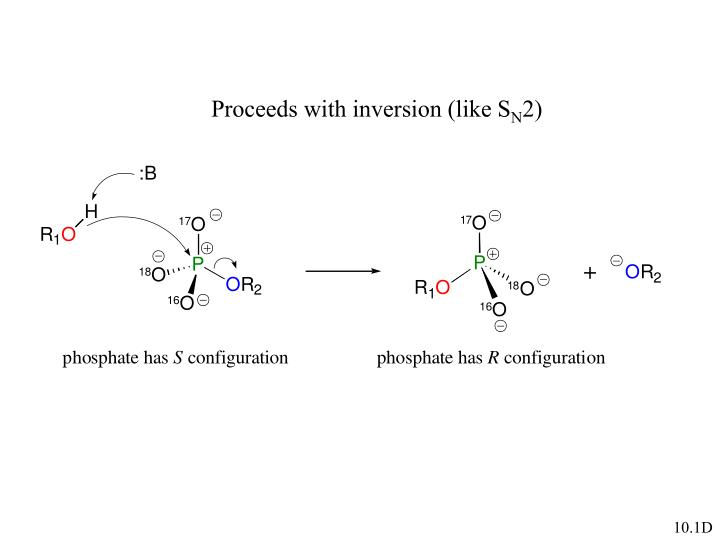 Proceeds with inversion (like S
