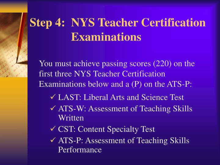 Ppt Becoming A Permanent New York State Certified Teacher