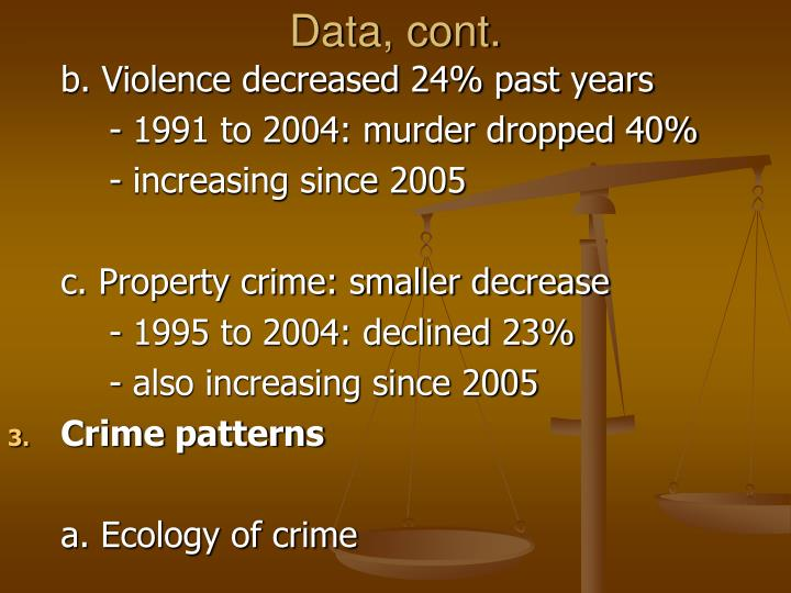 ecology of crime