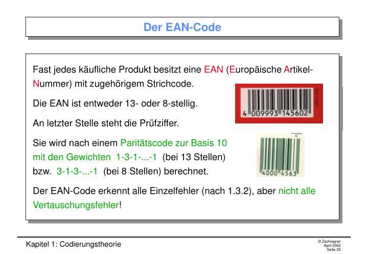 Der EAN-Code