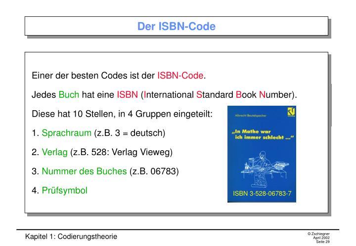 Der ISBN-Code
